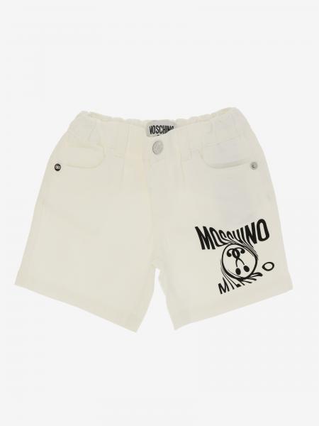 Moschino Baby 印花短裤