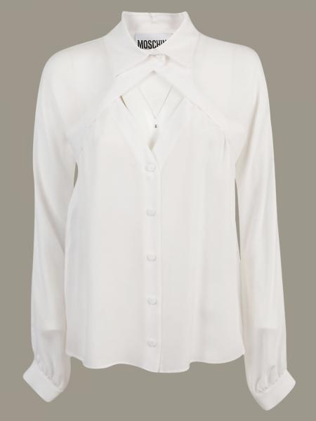 Camicia Moschino Couture a maniche lunghe