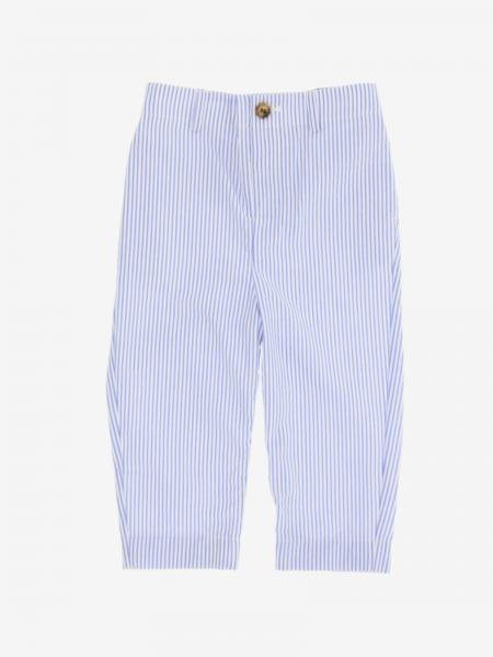 Pantalone Burberry Infant a micro righe