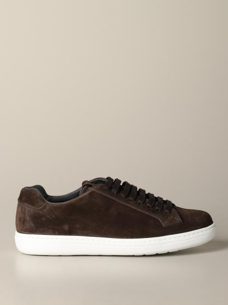 Church's suede sneakers
