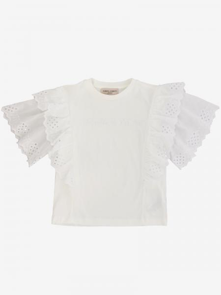 T-shirt Alberta Ferretti Junior con rouches