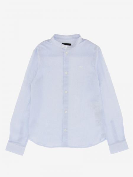 Camicia Emporio Armani con collo alla coreana
