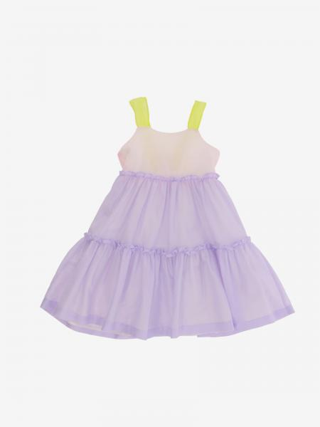 Il Gufo cotton dress with bow