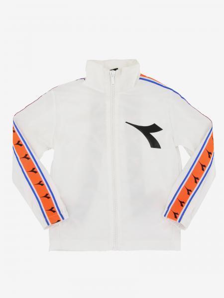 Diadora Sweatshirt mit Reißverschluss und Logo