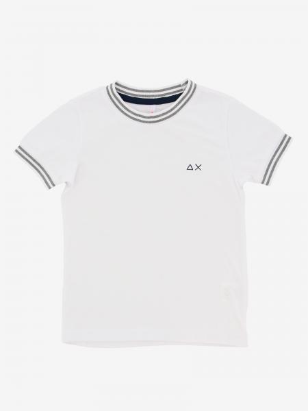 Sun 68 T-Shirt mit Streifen