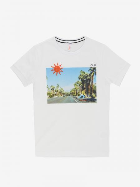 T-shirt Sun 68 con stampa frontale