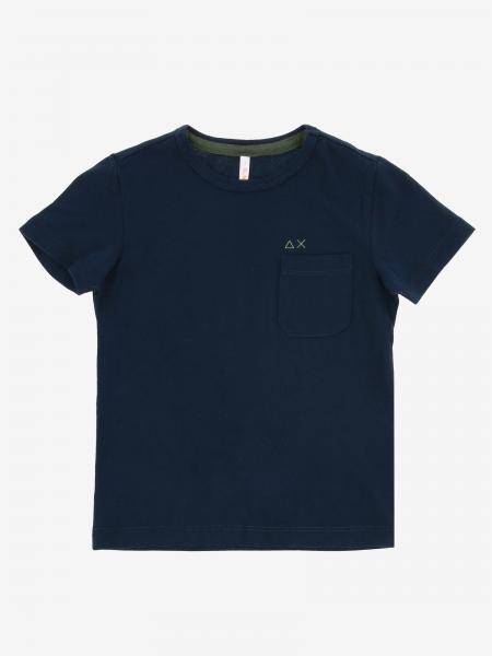 Sun 68 T-Shirt mit Logo
