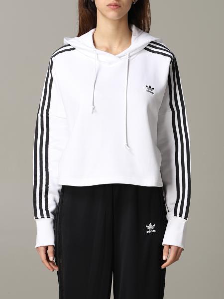 Adidas Originals sweatshirt with hood and logo