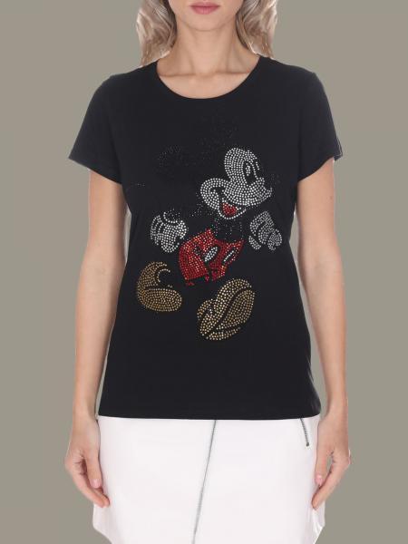T-shirt Liu Jo con topolino di strass