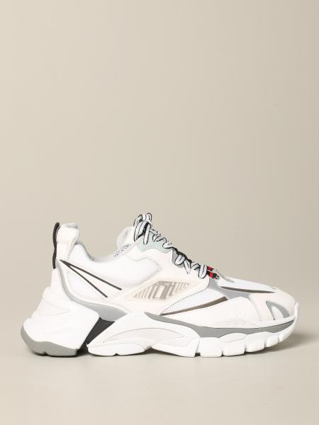Sneakers Flex Ash in pelle e rete