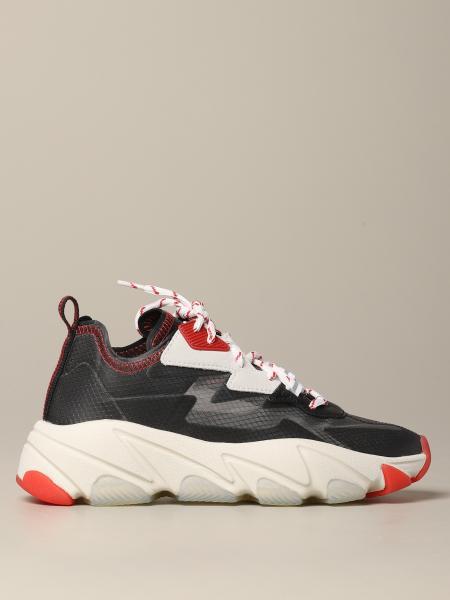 Sneakers Eclipse Ash in pelle e tela trasparente