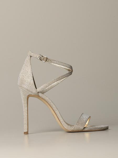 Sandalo Michael Michael Kors in mesh glitter