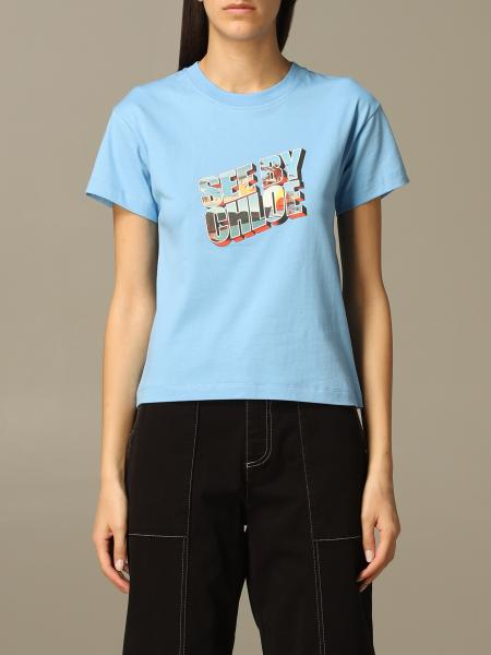 T-shirt See By Chloé con stampa logo