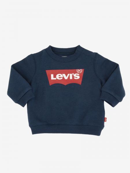 Felpa Levi's a maniche lunghe con logo