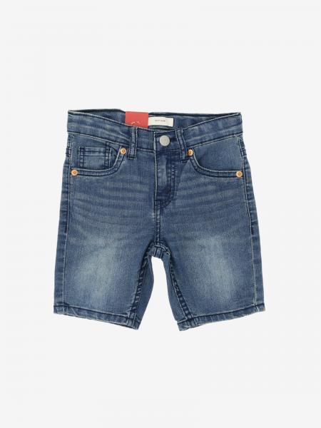 Pantaloncino di jeans Levi's a 5 tasche