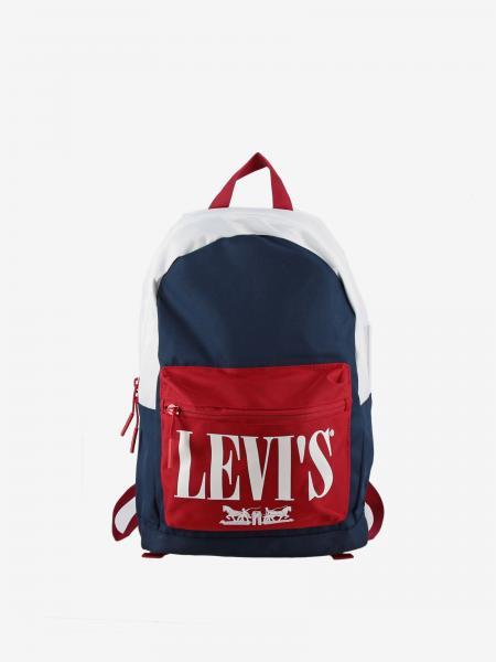 Zaino Levi's in tela tricolor con big logo