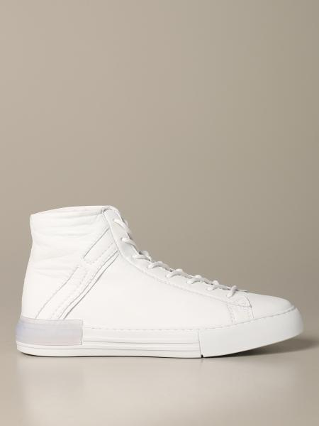 Sneakers Rebel Hogan in pelle con H allungata