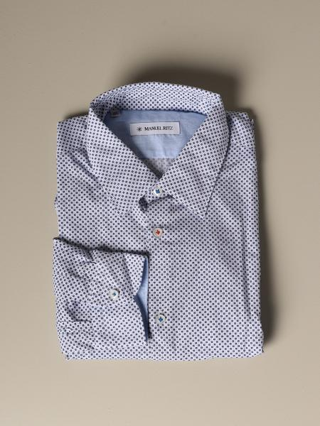 Manuel Ritz shirt with micro pattern