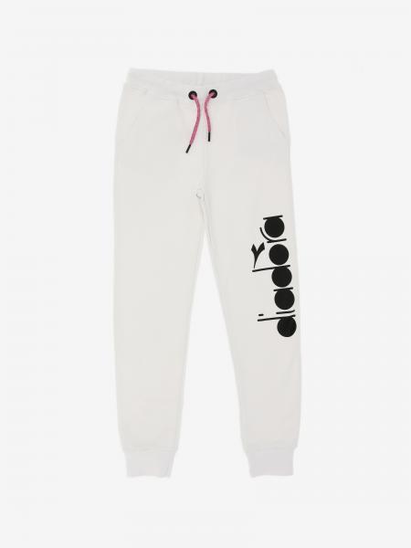 Pantalone jogging Diadora con logo