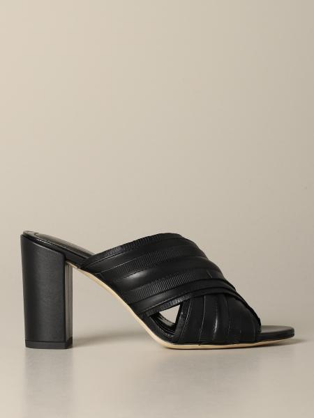 Tod's sandal in crossed band leather