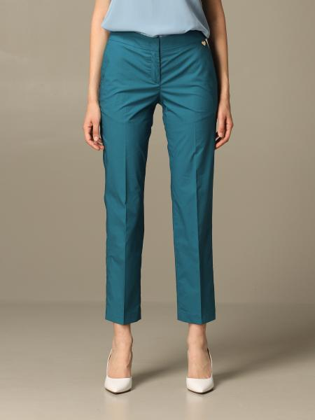 Pantalone Twin-set casual a vita regolare