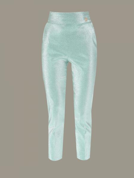 Elisabetta Franchi 金银丝裤子