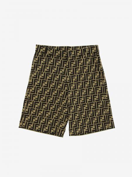 Fendi shorts with FF monogram all over