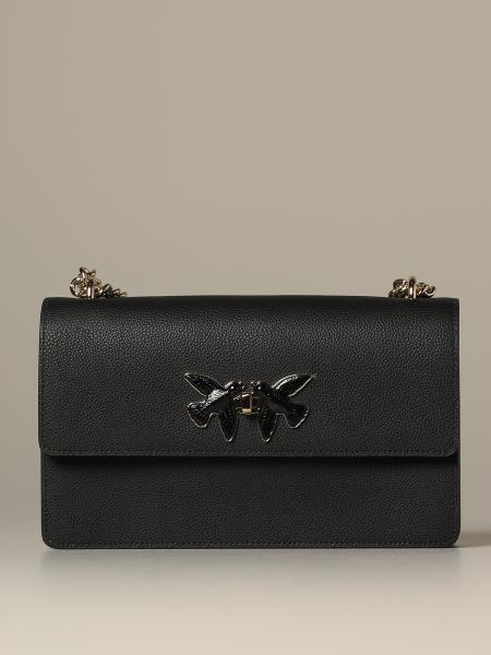 Pinko leather shoulder bag