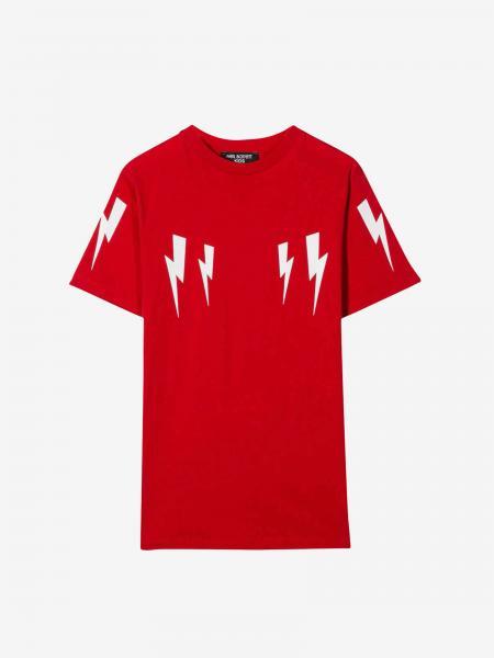 Neil Barrett T-Shirt mit Blitz