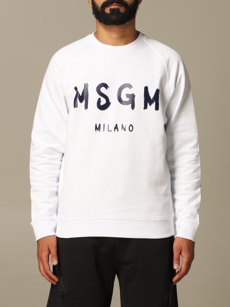 Felpa Msgm con stampa logo