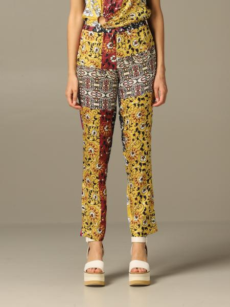 Manila Grace trousers with ethnic pattern