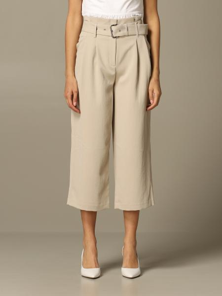 Michael Michael Kors wide trousers with belt