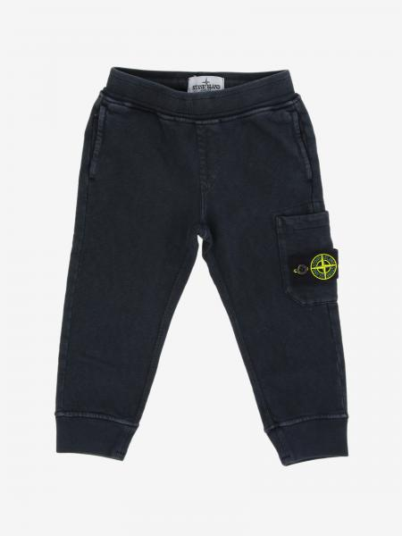 Pantalone jogging Stone Island Junior con logo