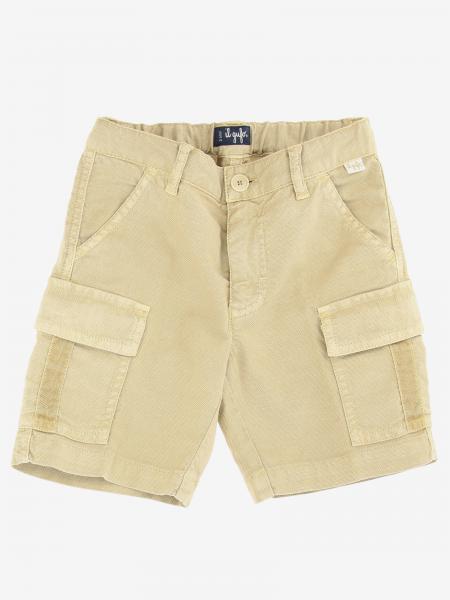 Pantaloncino Il Gufo con tasche a toppe