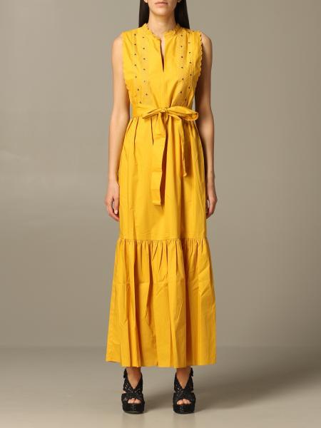 Robe longue Twin-set avec ceinture