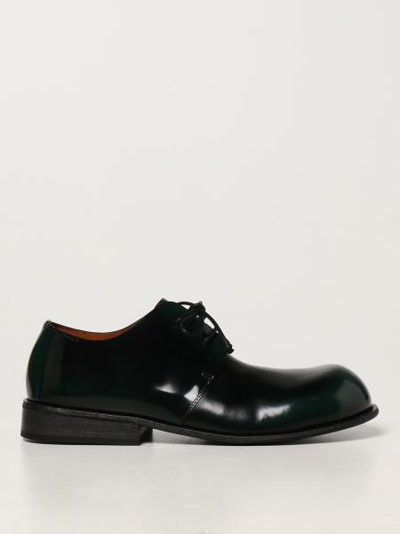 Marsèll Muso Derby shoes in abrasive leather