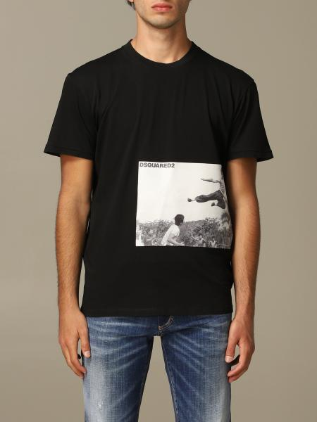 T-shirt Dsquared2 con stampa