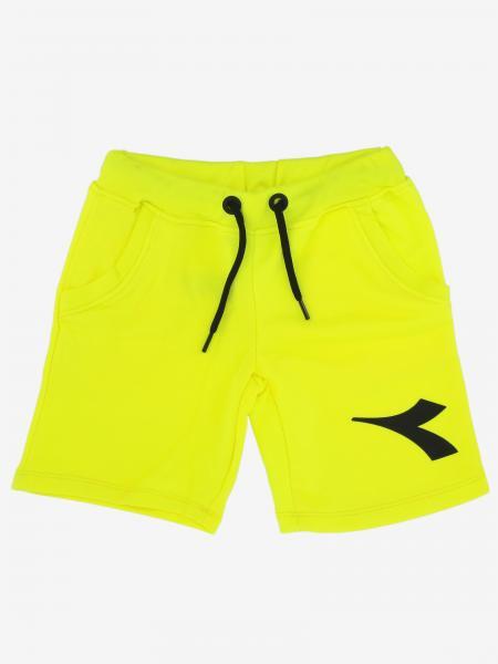 Diadora logo 运动短裤