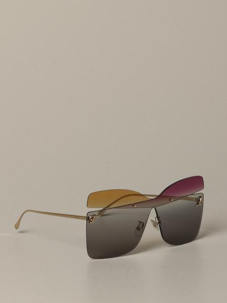 Fendi metal sunglasses with shaded effect