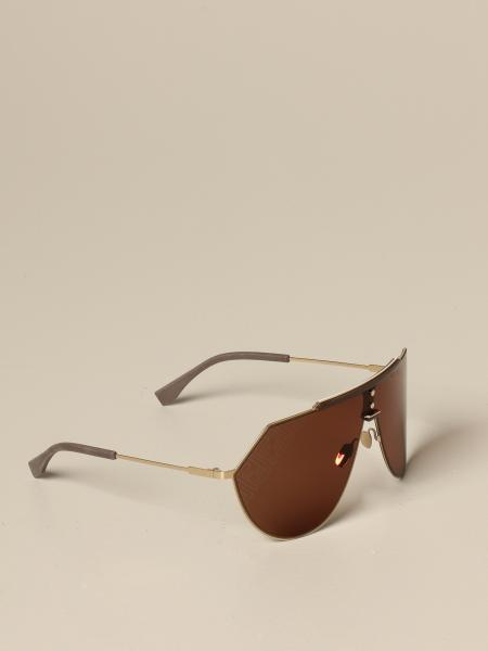 Metal Fendi glasses
