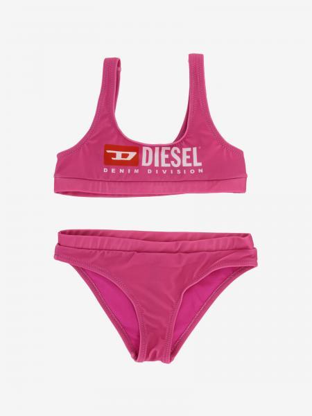 Costume a bikini Diesel con logo