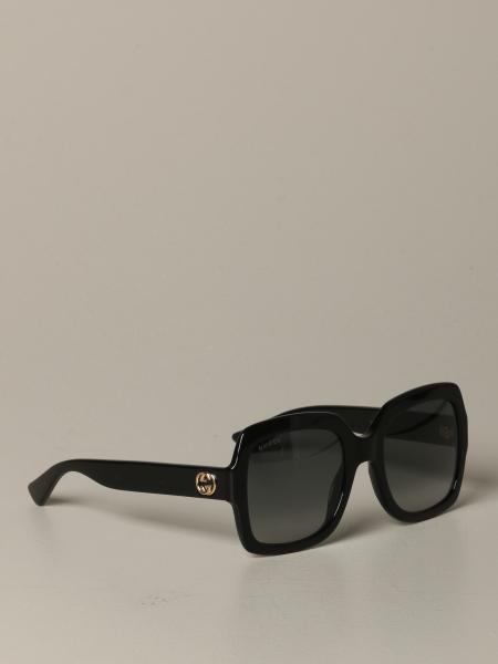 Gucci Acetat Brille mit GG-Monogramm