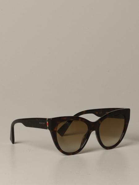 Gucci acetate sunglasses with logo