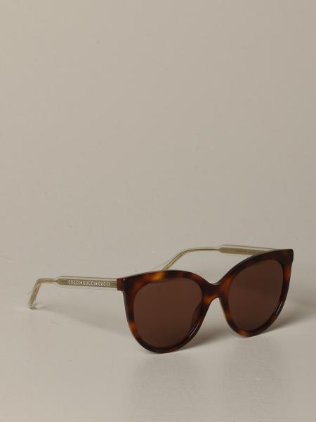 Gucci acetate and metal glasses