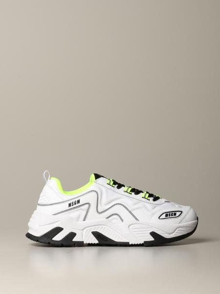 Sneakers Msgm running in pelle