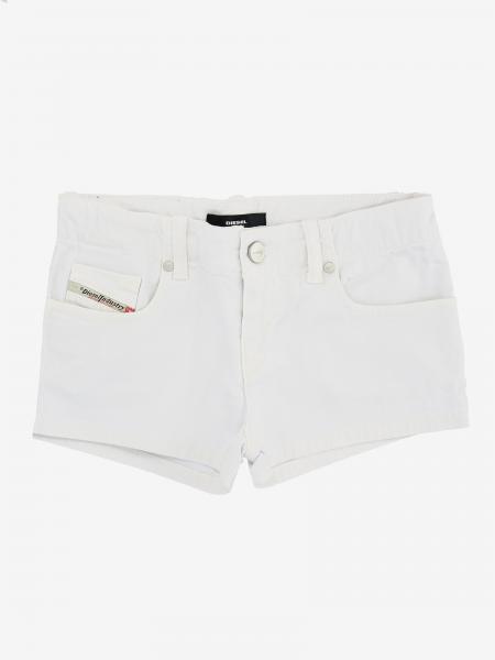 Pantalons courts enfant Diesel