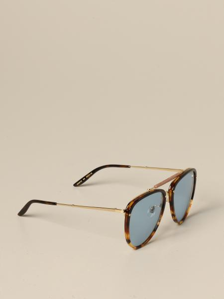 Gucci acetate glasses with double bridge