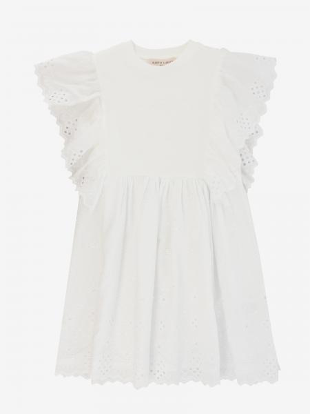 Alberta Ferretti Junior dress with Sangallo ruffles