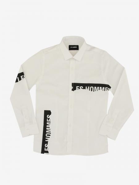 Les Hommes Hemd mit Logo