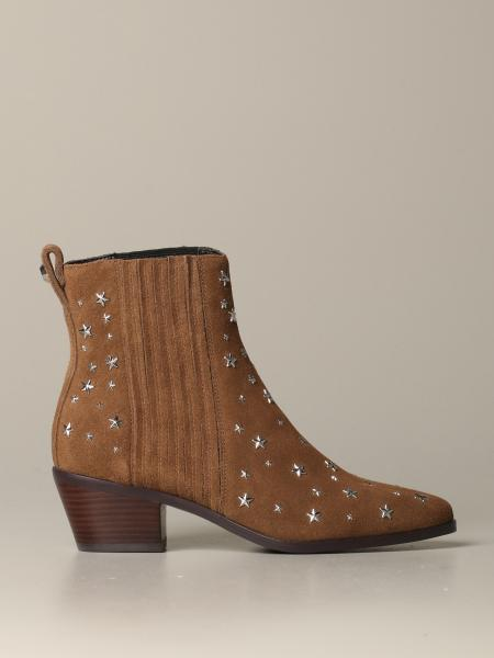 Liu Jo ankle boot in suede with all over stars